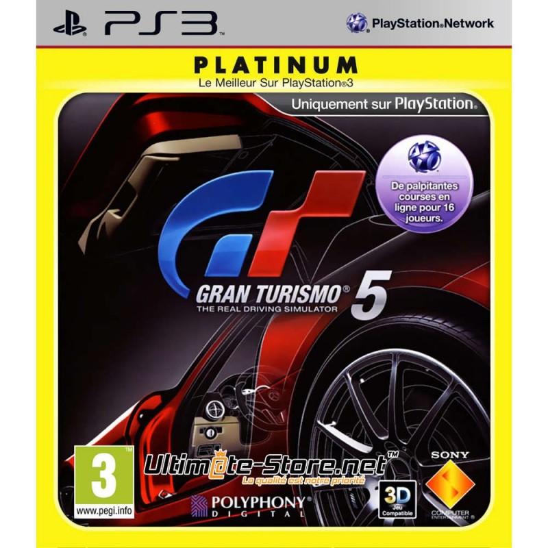 PS3 GRAN TURISMO 5 (PLATINUM) - Jeux PS3 au prix de 2,95€