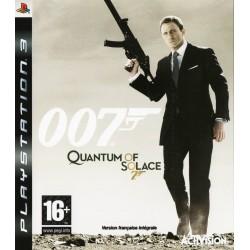 PS3 007 QUANTUM OF SOLACE - Jeux PS3 au prix de 5,95€