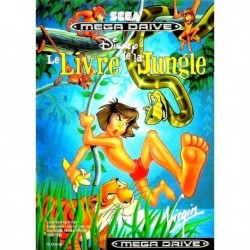 MD LE LIVRE DE LA JUNGLE (SANS NOTICE) - Jeux Mega Drive au prix de 12,95€
