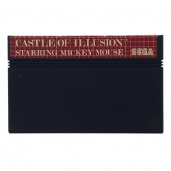 MS CASTLE OF ILLUSION STARRING MICKEY MOUSE (LOOSE) - Jeux Master System au prix de 4,95 €