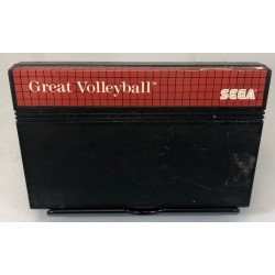MS GREAT VOLLEYBALL (LOOSE) - Jeux Master System au prix de 1,95 €