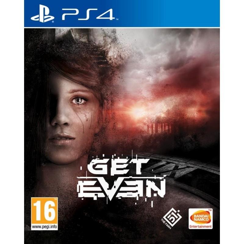 PS4 GET EVEN OCC - Jeux PS4 au prix de 14,95€
