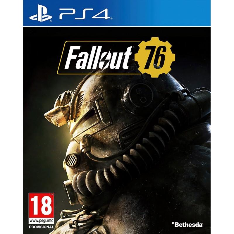 PS4 FALLOUT 76 OCC - Jeux PS4 au prix de 9,95€