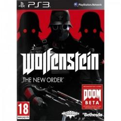PS3 WOLFENSTEIN THE NEW ORDER - Jeux PS3 au prix de 7,95€