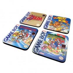 DESSOUS DE VERRES GAMEBOY CLASSIC COASTER PACK DE 4 - Autres Goodies au prix de 9,95€