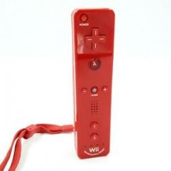 WIIMOTE WII MOTION PLUS ROUGE - Accessoires Wii au prix de 19,95€