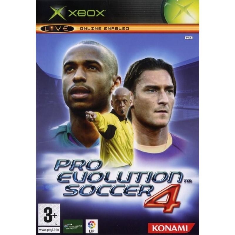 XB PRO EVOLUTION SOCCER 4 - Jeux Xbox au prix de 0,95€