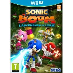 WIU SONIC BOOM L ASCENSION DE LYRIC - Jeux Wii U au prix de 14,95€