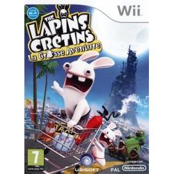 WII LAPINS CRETINS LA GROSSE AVENTURE - Jeux Wii au prix de 9,95€