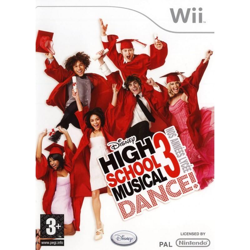 WII HIGH SCHOOL MUSICAL 3 - Jeux Wii au prix de 9,95€