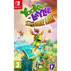 SWITCH YOOKA-LAYLEE AND THE IMPOSSIBLE LAIR - Jeux Switch au prix de 19,95€