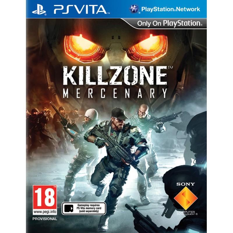 PSV KILLZONE MERCENARY - Jeux PS Vita au prix de 14,95€