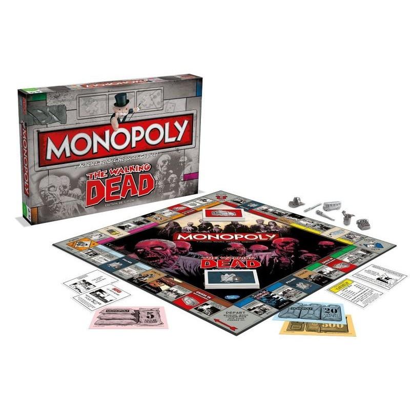 MONOPOLY THE WALKING DEAD - Jeux de Société au prix de 39,95€