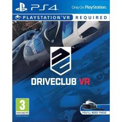 PS4 DRIVECLUB VR OCC - Jeux PS4 au prix de 14,95€