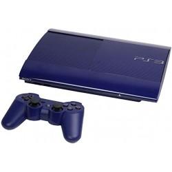 CONSOLE PS3 ULTRA SLIM BLEU 500GO - Consoles PS3 au prix de 99,95€