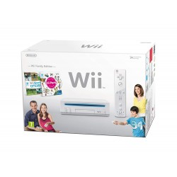 CONSOLE WII BLANCHE PACK EDITION FAMILY OCC - Consoles Wii au prix de 49,95 €