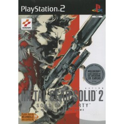 PS2 METAL GEAR SOLID 2 SONS OF LIBERTY - Jeux PS2 au prix de 4,95€
