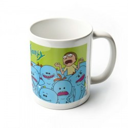MUG RICK ET MORTY MR MEESEEKS MR LARBIN 300ML - Mugs au prix de 9,95 €