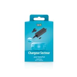 CHARGEUR SECTEUR WII U GAMEPAD NOIR - Accessoires Wii U au prix de 19,95€