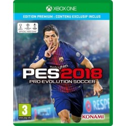 XONE PES 2018 OCC - Jeux Xbox One au prix de 4,95€