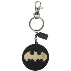 PORTE CLES BATMAN JUSTICE LEAGUE GOLD METAL 2 FACES - Porte Clés au prix de 9,95 €