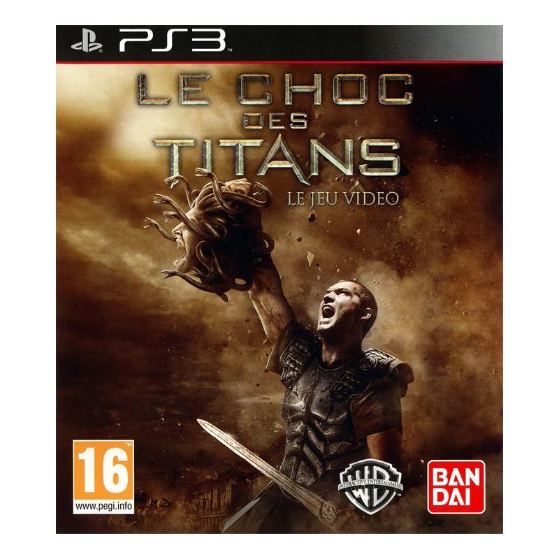 PS3 CHOC DES TITANS - Jeux PS3 au prix de 6,95€