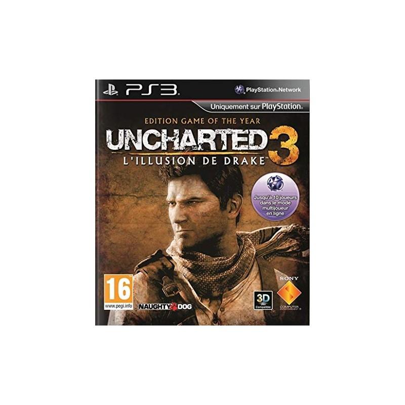 PS3 UNCHARTED 3 GOTY - Jeux PS3 au prix de 7,95€