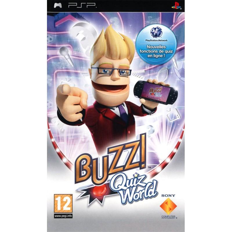 PSP BUZZ QUIZ WORLD - Jeux PSP au prix de 4,95€
