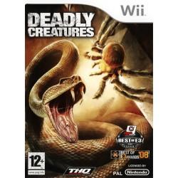 WII DEADLY CREATURES - Jeux Wii au prix de 14,95€