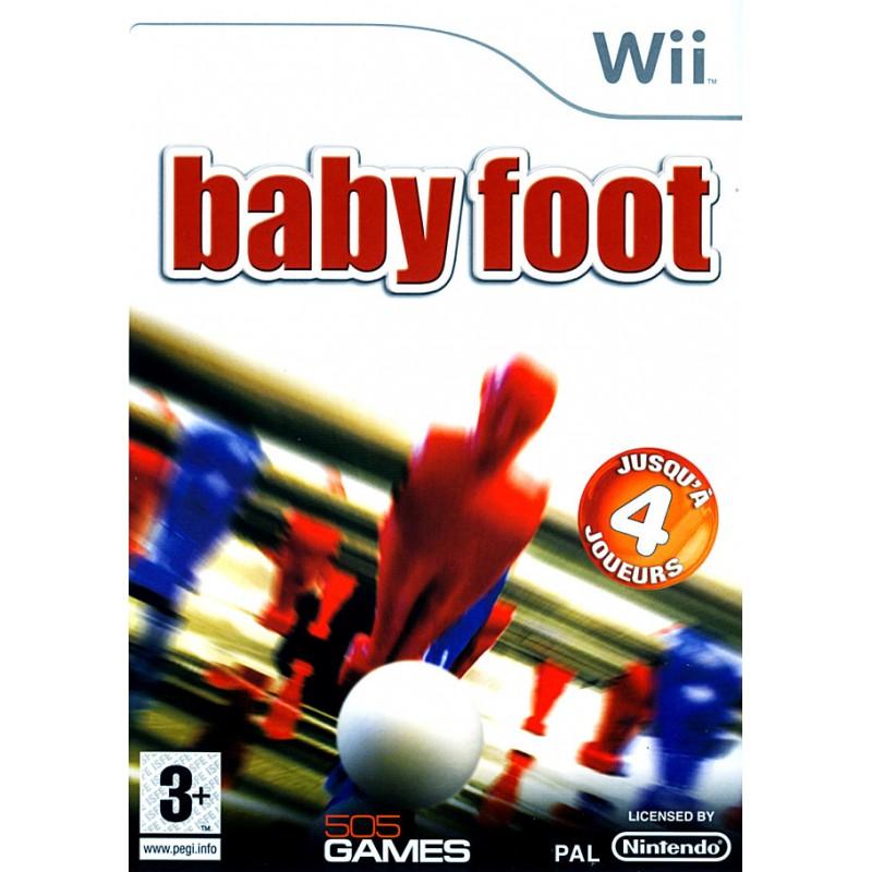 WII BABY FOOT - Jeux Wii au prix de 4,95€