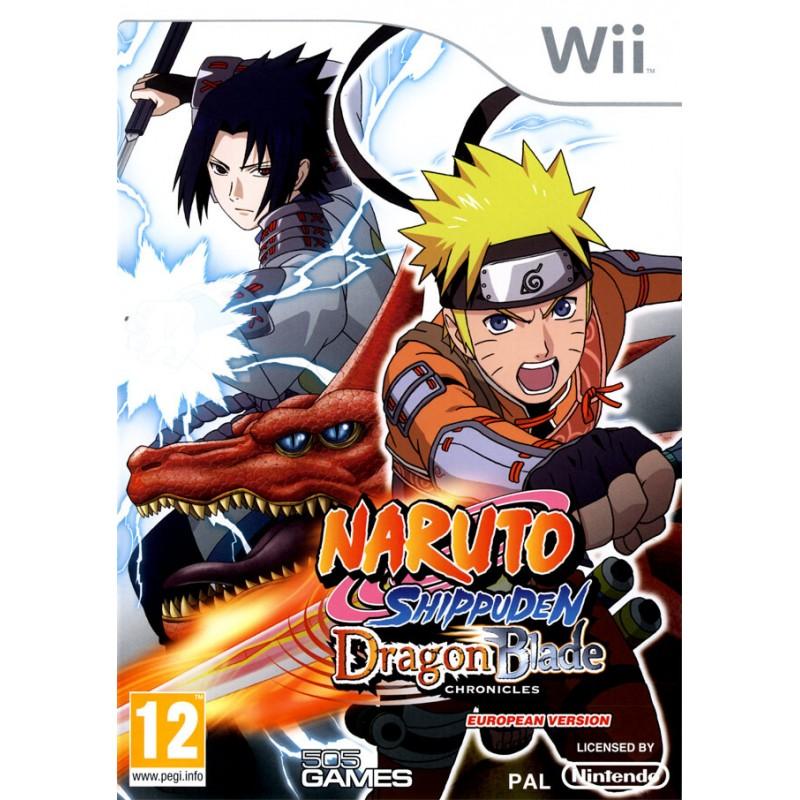WII NARUTO SHIPPUDEN DRAGON BLADE CHRONICLES - Jeux Wii au prix de 9,95€