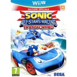 WIU SONIC ET ALL STARS RACING TRANSFORMED - Jeux Wii U au prix de 12,95€