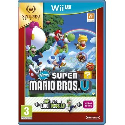 WIU NEW SUPER MARIO BROS. U ET NEW SUPER LUIGI. U NINTENDO SELECTS - Jeux Wii U au prix de 14,95€