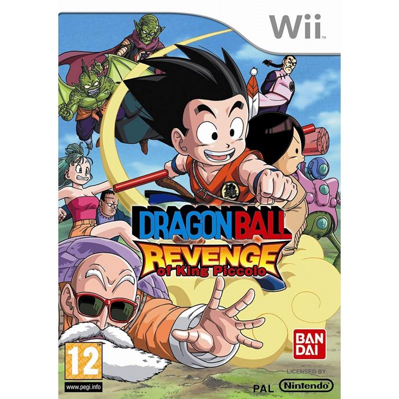 WII DRAGON BALL : REVENGE OF KING PICCOLO - Jeux Wii au prix de 9,95€