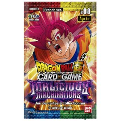 BOOSTER DRAGON BALL SUPER MALICIOUS MACHINATIONS - Cartes à collectionner ou jouer au prix de 5,00 €