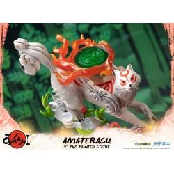 FIGURINE OKAMI AMATERASU PVC 22CM - Figurines au prix de 79,95€