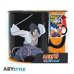 MUG NARUTO HEAT CHANGE DUEL 460ML - Mugs au prix de 12,95€