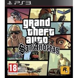 PS3 GTA SAN ANDREAS - Jeux PS3 au prix de 14,95€