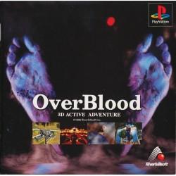 PSX OVERBLOOD (JAP) - Jeux PS1 au prix de 9,95€