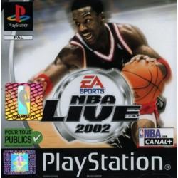 PSX NBA LIVE 2002 - Jeux PS1 au prix de 3,95€