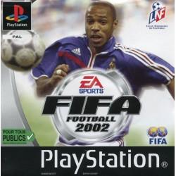 PSX FIFA FOOTBALL 2002 - Jeux PS1 au prix de 1,95€