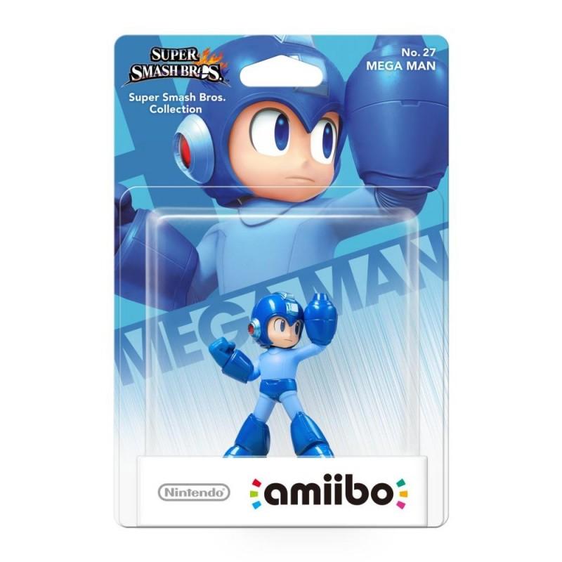 AMIIBO NO 27 MEGAMAN SSB - Figurines NFC au prix de 14,95€
