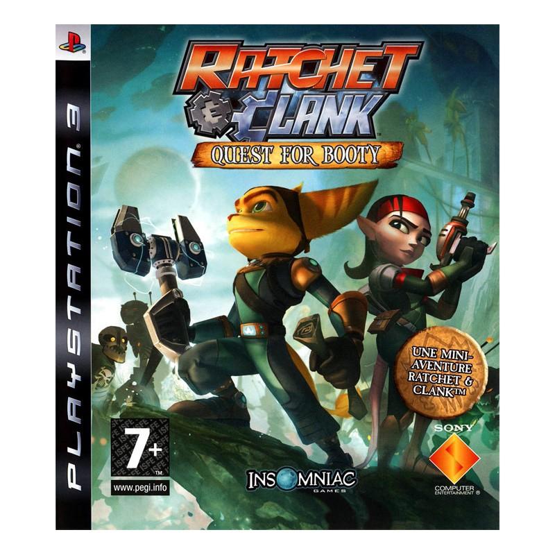PS3 RATCHET CLANK QUEST FOR BOOTY - Jeux PS3 au prix de 12,95€