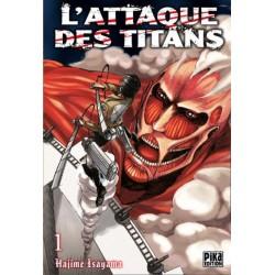 ATTAQUE DES TITANS PACK TOME 01 & 02 - Manga au prix de 6,95€