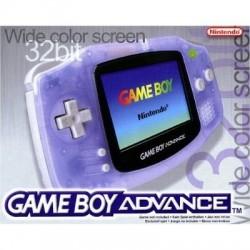 CONSOLE GAME BOY ADVANCE BLEU TRANSPARENTE BOITE - Consoles Game Boy Advance au prix de 39,95€