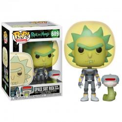 POP RICK AND MORTY 689 RICK SPACE SUIT - Figurines POP au prix de 14,95€