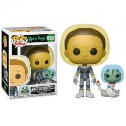 POP RICK AND MORTY 690 MORTY SPACE SUIT - Figurines POP au prix de 14,95€