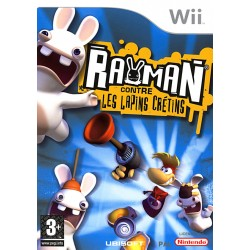 WII RAYMAN ET LES LAPINS CRETINS - Jeux Wii au prix de 6,95€