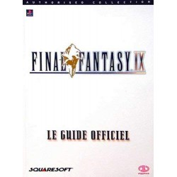 GUIDE OFFICIEL FINAL FANTASY IX - Guides de Jeux au prix de 24,95 €
