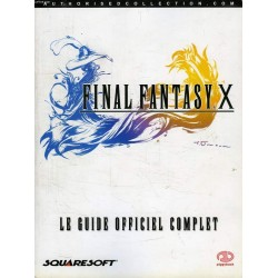 GUIDE OFFICIEL FINAL FANTASY X - Guides de Jeux au prix de 19,95 €